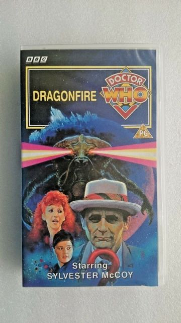 Doctor Who - Dragonfire (VHS, 1993) - Sylvester McCoy - VHS NEW and SEALED